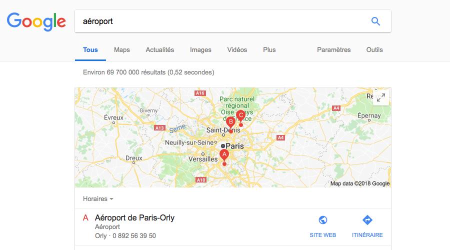 Google: le moteur de recherche est à moitié en panne