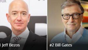 Jeff Bezos, PDG d'Amazon, est bien l'homme le plus riche du monde