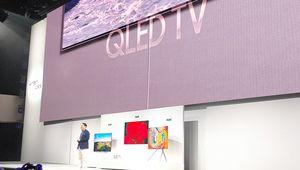 Présentation de la gamme de TV UHD Qled Samsung 2018