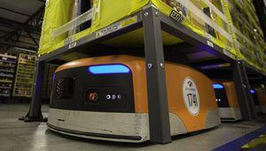 Amazon déploie ses robots d'entrepôt en France