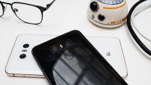 Une valse des appareils photo grand-angle sur les LG G6