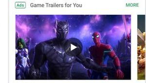 Google teste un carrousel de publicités vidéo sur le Play Store