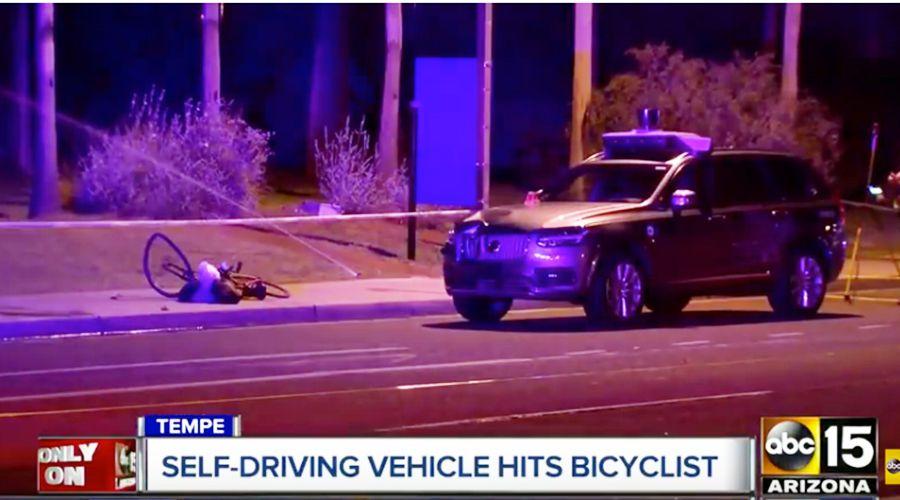 Accident Uber: le système de freinage d'urgence était désactivé
