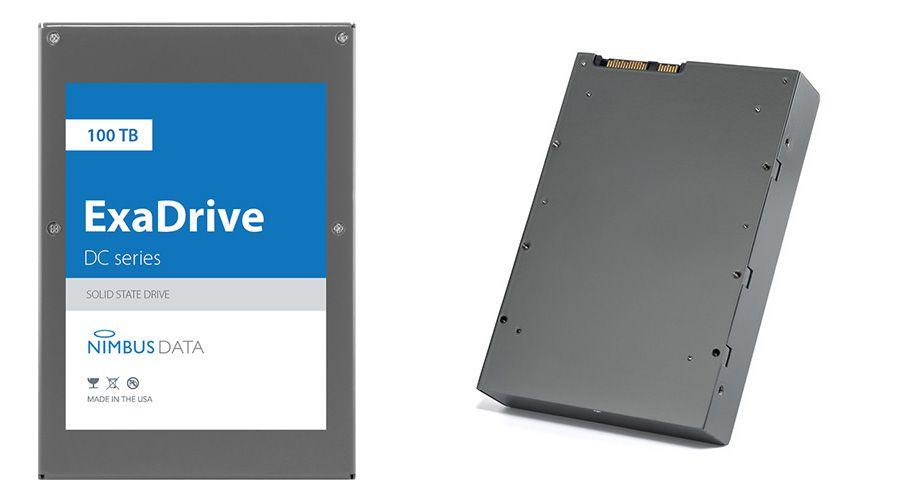 """Record du monde: le SSD de Nimbus Data fait 100 To... au format 3,5"""""""