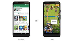 Avec Google Play Instant, essayez des jeux Android sans les installer