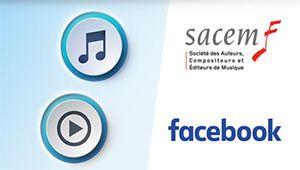 Accords musicaux: Facebook poursuit sa conquête avec la Sacem