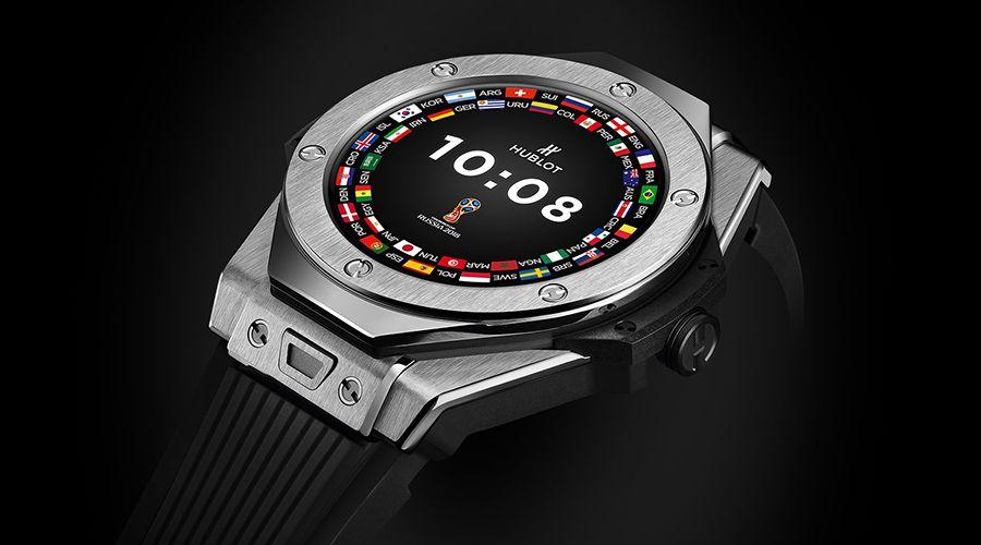 Une smartwatch Hublot à 4500€ pour les arbitres du mondial de foot