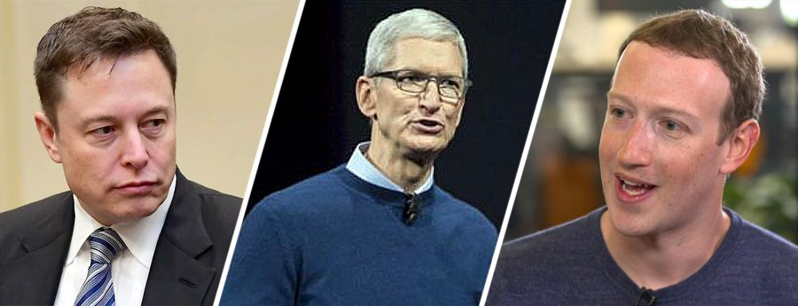 Facebook: Musk boycotte, Cook enfonce et Zuckerberg fait sa pub