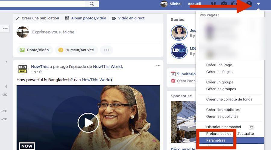 Facebook Comment Récupérer Une Copie De Ses Données Les Numériques