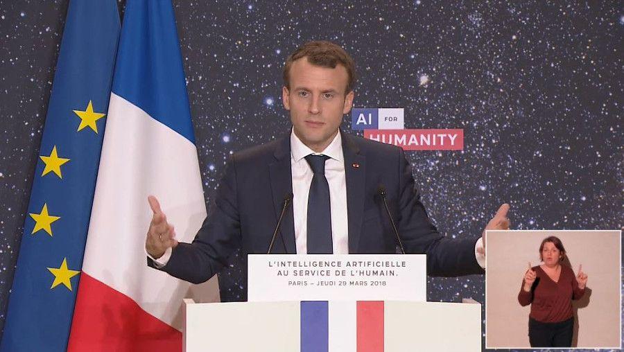 Intelligence artificielle: la stratégie Macron en 6 chantiers