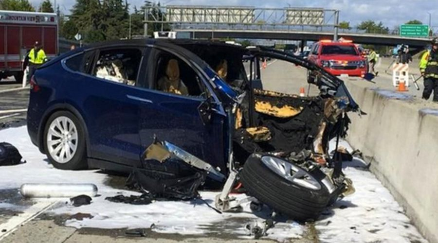 Accident de Tesla Model X: Autopilot engagé et voirie défectueuse