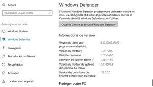 Windows Defender: découverte d'une faille de sécurité critique