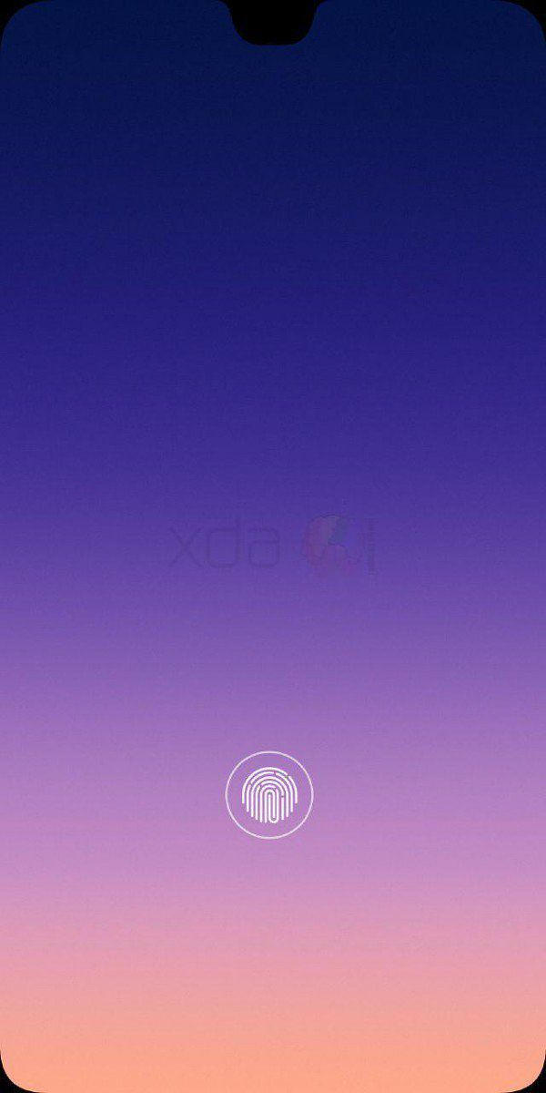 Xiaomi Mi 7 Capteur d'empreintes sous l'écran.jpg