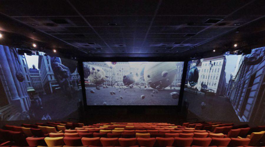 Les Cinémas Gaumont Pathé adoptent la technologie ScreenX