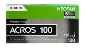 L'arrêt de la pellicule Fujifilm Neopan 100 met fin à la gamme Acros