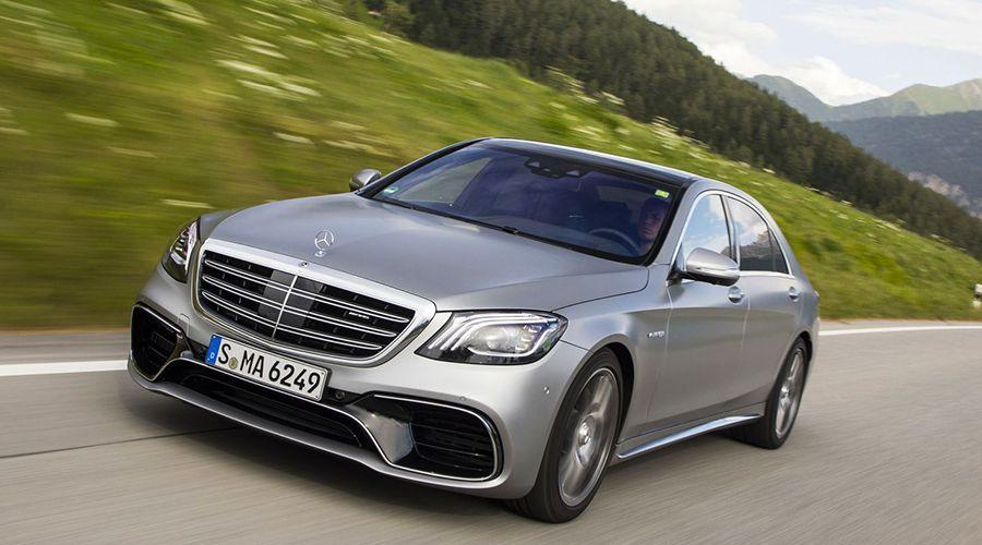 Mercedes EQ S: une berline électrique grand luxe vers 2020