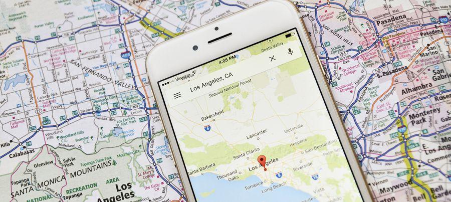 Quand Google Maps se met à utiliser les fast-foods dans la navigation