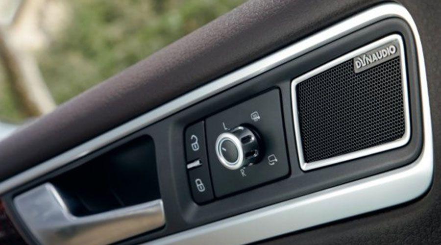 Un système Dynaudio dans le nouveau Volkswagen Touareg
