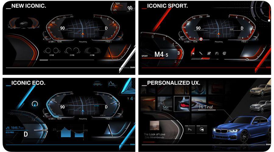 iDrive 7.0 et nouveau tableau de bord chez BMW