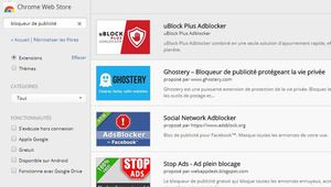 Google retire 5 bloqueurs de pub vérolés du Chrome Web Store
