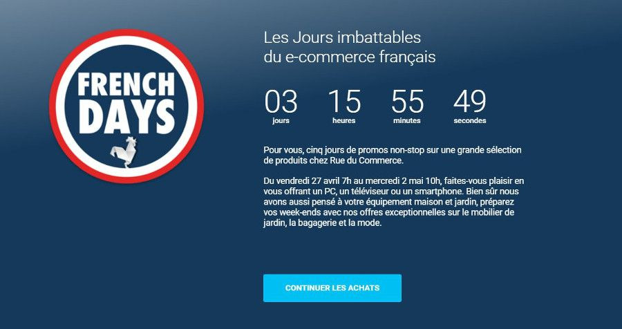 Un black Friday spécial printemps aura lieu en France !