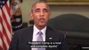 Barack Obama insulte Donald Trump dans une (fausse) vidéo