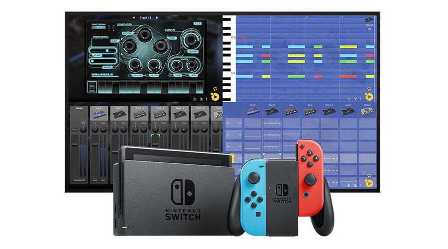 Les synthétiseurs Korg débarquent sur Nintendo Switch