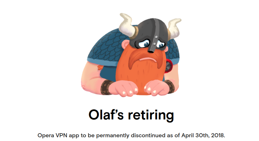 L'application Opera VPN cessera de fonctionner le 30 avril prochain