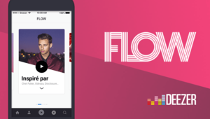 Le service de streaming audio Deezer enrichit sa fonctionnalité Flow