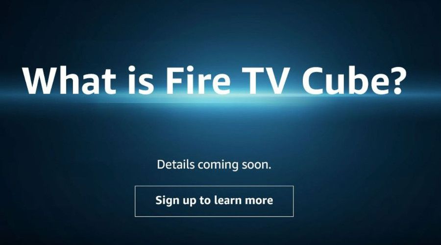 Amazon: qu'est-ce que la Fire TV Cube?