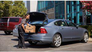 Volvo ouvre ses coffres aux commandes Amazon