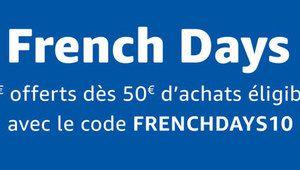 [MàJ] French Days – Amazon est aussi de la partie