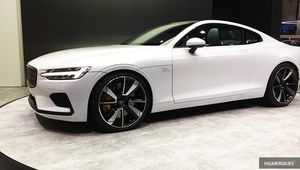 Polestar 1: voiture sportive électrique à 155000€