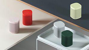 Sonos habille sa One de nouveaux coloris