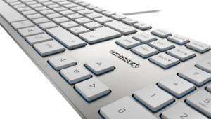 Cherry KC 6000 Slim, un clavier extra-plat en aluminium