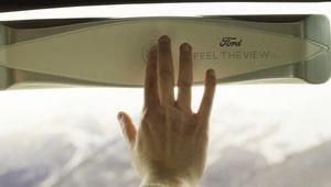 Ford Feel the view: le vitrage qui révèle le paysage aux non-voyants