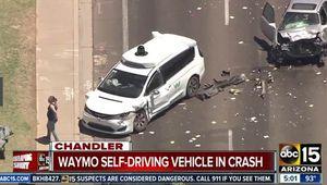 Voitures autonomes: Waymo, victime involontaire d'une collision