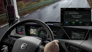 Les camions Volvo Trucks communiquent avec les voitures Volvo Cars