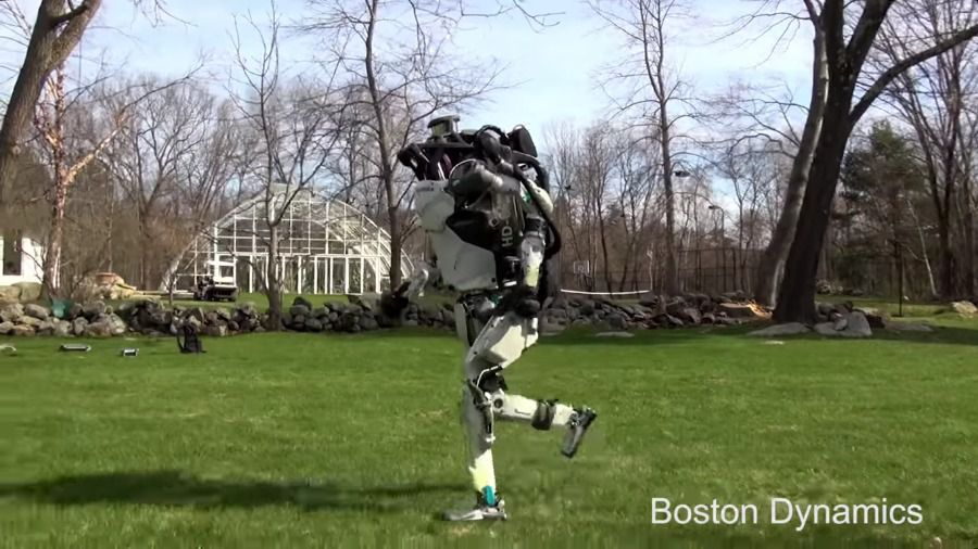 Atlas running Boston Dynamics