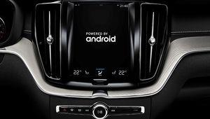 Nouvelle interface d'info-divertissement sous Android chez Volvo