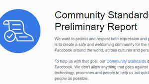 Facebook publie ses chiffres de modération pour la première fois