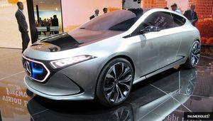 Mercedes-Benz va produire sa compact électrique en France