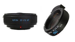Kipon EF-FX et EF-GFX: pour objectifs Canon EF sur hybrides Fujifilm