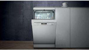 Lave-vaisselle Miele G 4620 Active, un encombrement minimal