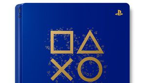 Une édition limitée bleu et or de la PS4 pour les Days of Play