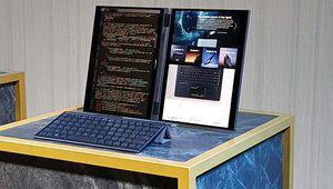 Computex 2018 – Asus expose un concept de PC portable à deux écrans