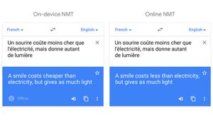 Google Translate dispose désormais de l'IA en mode hors-ligne