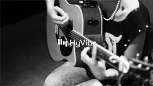 La guitare HyVibe est de la Fête