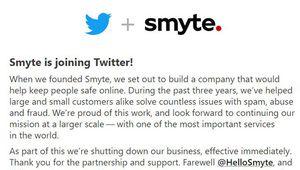 Twitter rachète Smyte pour améliorer sa modération