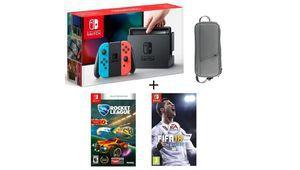 Bon plan– Une Switch avec deux jeux à 350€
